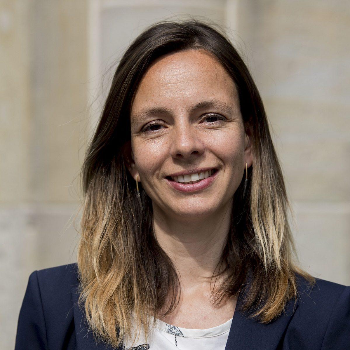 Portretfoto van Marlou van Cappellen, Officemanager van UDSRotterdam